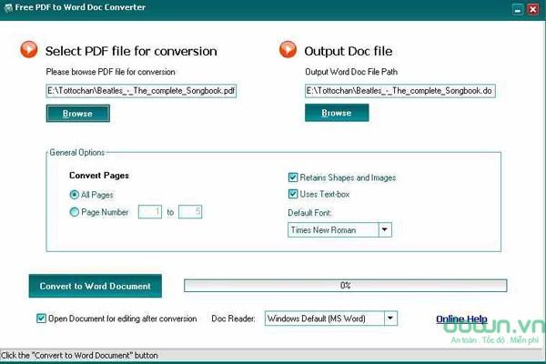 Top 5 phần mềm chuyển đổi File PDF sang Word tốt nhất hiện nay