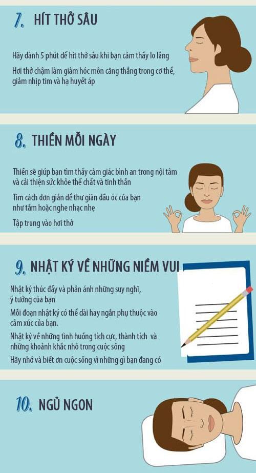 10 bước giúp bạn vui vẻ mỗi ngày