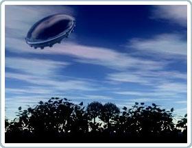 UFO thường xuyên đổ bộ và nổ trên Trái đất