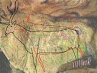 Bức vẽ trên đá 12.800 năm tuổi