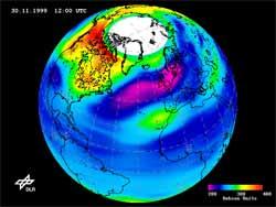 Lỗ thủng ozone tại Nam Cực: không thể dự báo