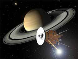 Tàu Cassini gửi ảnh chụp mặt trăng Dione của sao Thổ