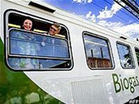 Tàu hỏa chạy bằng biogas đầu tiên trên thế giới
