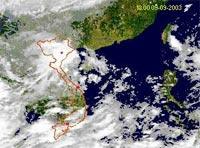 Sử dụng ảnh vệ tinh nghiên cứu môi trường và thiên tai