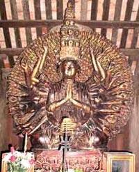 Bí ẩn của pho tượng phật chùa Bút Tháp