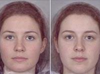 Khuôn mặt phụ nữ tiết lộ khả năng sinh nở