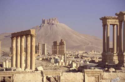 Bí ẩn về thành cổ ở sa mạc