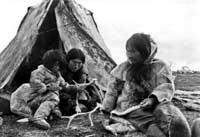Sự ra đi của người Eskimos.