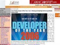 Khởi động cuộc thi Developer of the year 2006 cho lập trình viên