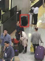 Hệ thống an ninh theo dõi hành lý vô chủ