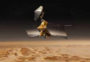 Tàu thăm dò sao Hỏa truyền dữ liệu về Trái đất