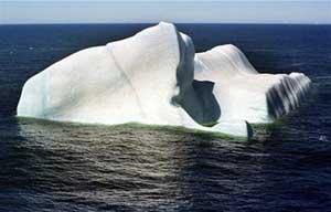 Núi băng biết hát!
