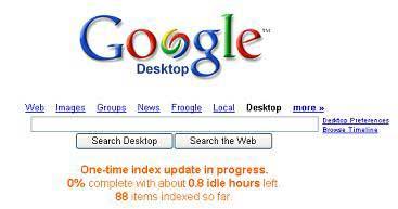 Google Desktop 2.0 có thực sự hấp dẫn?