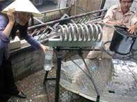Lắp ráp bếp năng lượng mặt trời