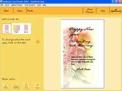 Làm thiệp chúc Tết bằng Halkmark Card Studio
