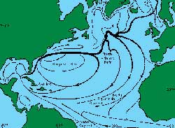 Dòng Gulf Stream, hệ thống sưởi khổng lồ của đại dương