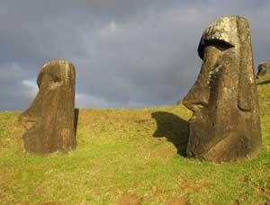 Người tai dài trên đảo Easter