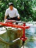 Sáng chế máy bơm chạy bằng sức nước