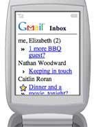 Truy cập Gmail qua điện thoại di động