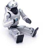 QRIO Robots của Sony với con mắt thứ ba