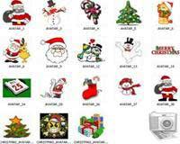 Bộ sưu tập Avatar Giáng sinh cho Yahoo Messenger