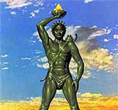 Vụ mất tích bức tượng thần Mặt trời ở đảo Rhodes