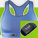 Áo lót thể thao giúp kiểm tra nhịp tim