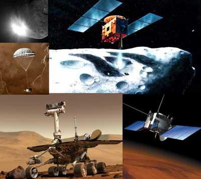2005: Năm khám phá Thái dương hệ