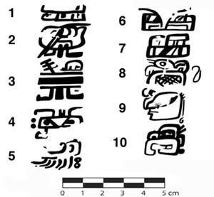 Tìm thấy chữ viết cổ nhất của người Maya