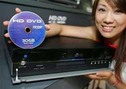 Toshiba sẽ tung đầu đọc HD DVD vào Mỹ trong tháng 3-2006