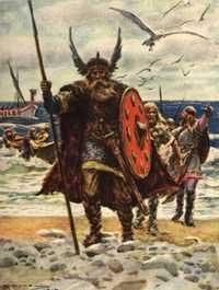 Người Viking trang trí răng cửa