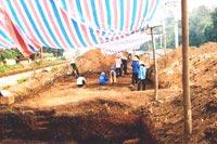 Kinh đô Văn Lang lộ diện tại di tích Làng Cả