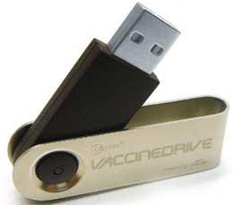 Chip USB tốc độ cao và ổ USB kèm phần mềm diệt virus