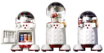 Robot rót bia