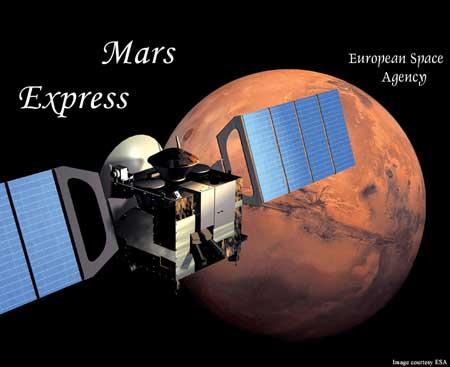 Có hơi nước và ô-zôn trên khí quyển sao Hỏa