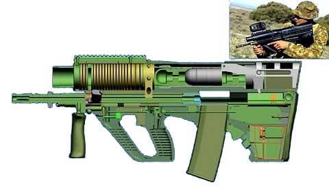 Súng bộ binh mới: 240.000 viên đạn/phút