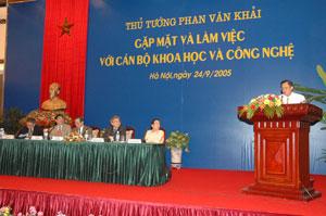 10 kết quả nổi bật trong hoạt động của Bộ KH&CN năm 2005
