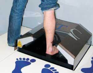 Tạo giày vừa chân từ 'máy in'