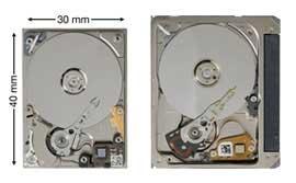 Ổ mini 1 inch 12 GB đầu tiên của Seagate