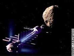Phi thuyền - giải pháp chống va chạm với tiểu hành tinh