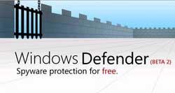 Windows Defender bảo vệ PC trong thời gian thực