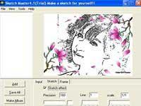 Biến hình số thành bức phác họa với Sketch Master