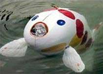 Cá robot thám hiểm dưới nước