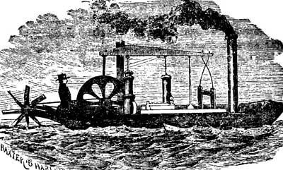 Tàu thủy chạy bằng hơi nước đầu tiên của Fitch