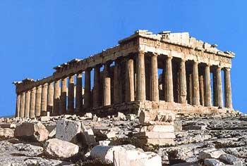 Điện Parthenon từng là một kiệt tác về sắc màu