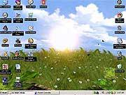Bướm bay trên Desktop