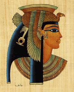 Cleopatra và các kiểu tóc huyền bí