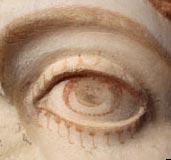 Bức tượng sơn màu hiếm có thời La Mã