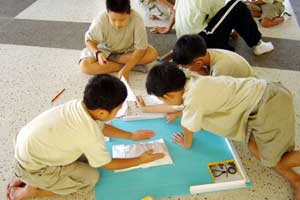 Tập cho trẻ thói quen đọc sách