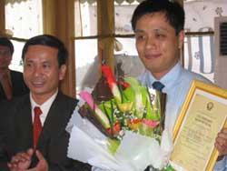 """Cấp bản quyền cho một sản phẩm dự thi """"Nhân tài đất Việt"""""""